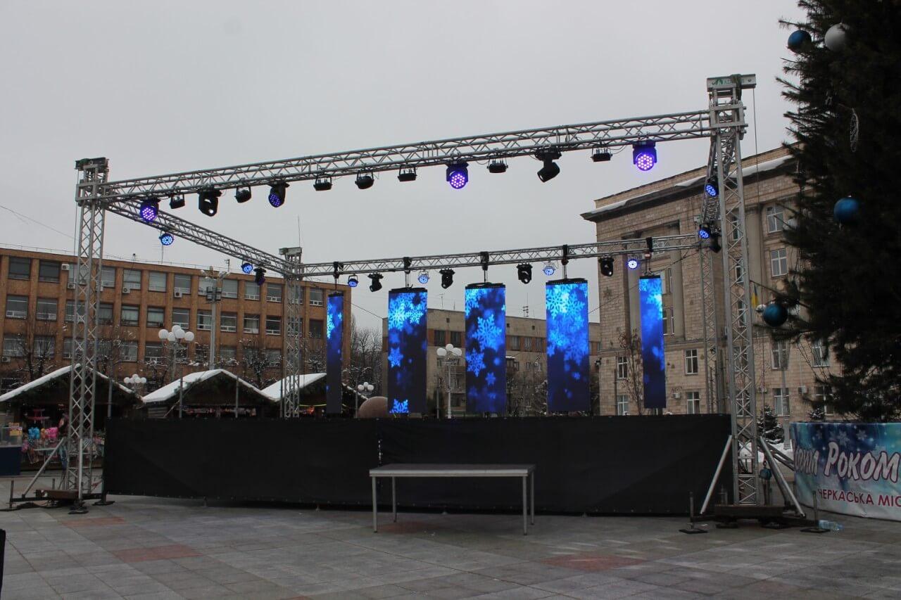 Аренда Алюминиевая конструкция 6х8 в Украине