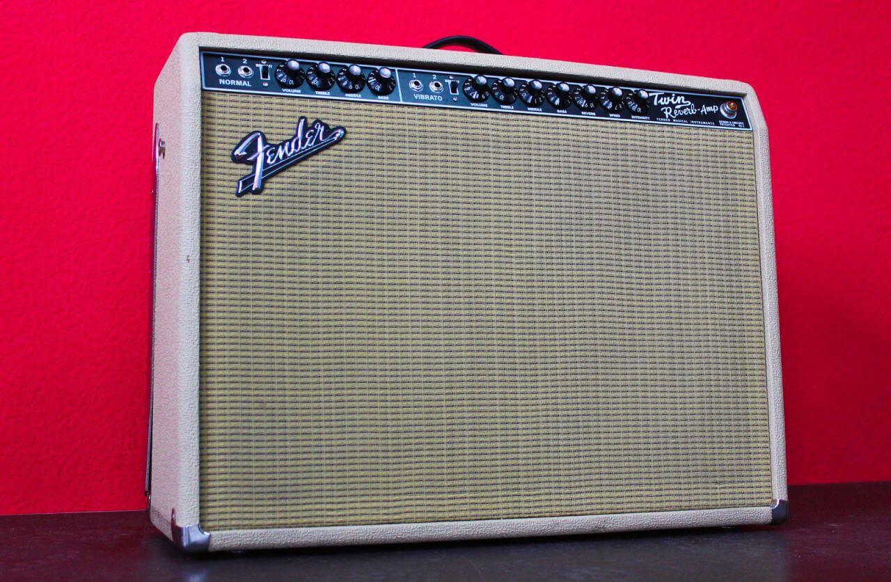 Аренда Гитарный комбик Fender 65 Twin reverb BLONDE