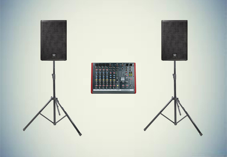 Аренда готового комплекта «Звуковой комплект №1» в Украине