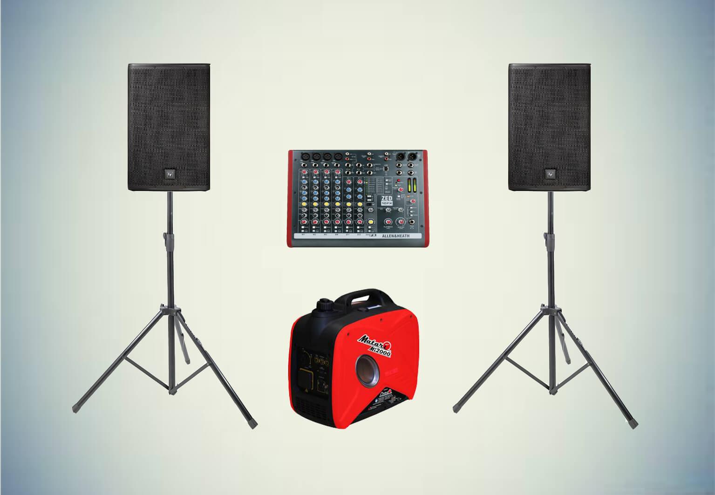 Аренда звукового комплекта «Церемония №3» в Украине