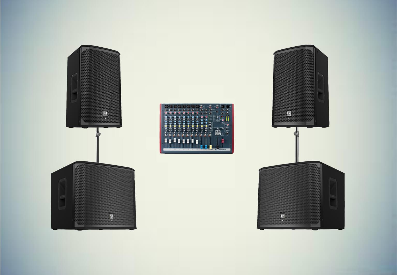 Аренда готового комплекта «Звуковой комплект №2» в Украине
