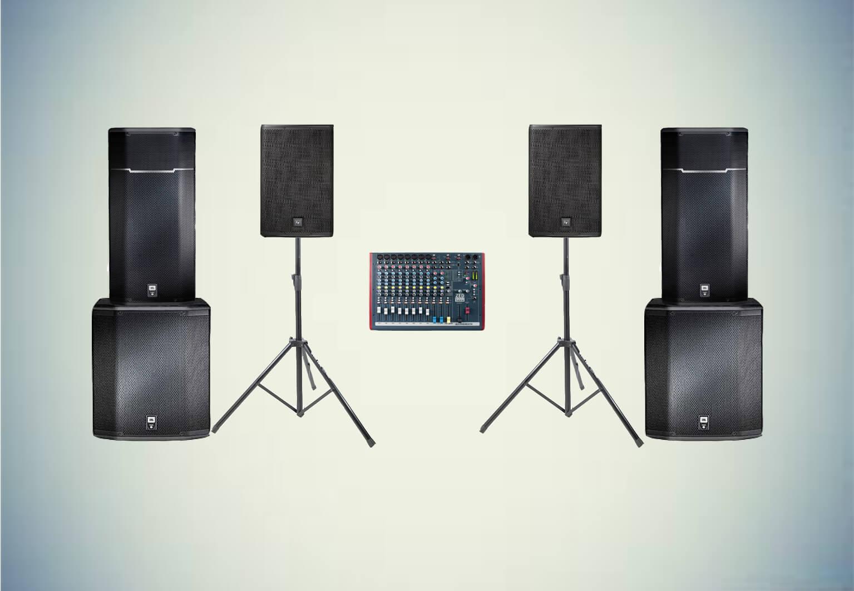 Аренда готового комплекта «Звуковой комплект №4» в Украине