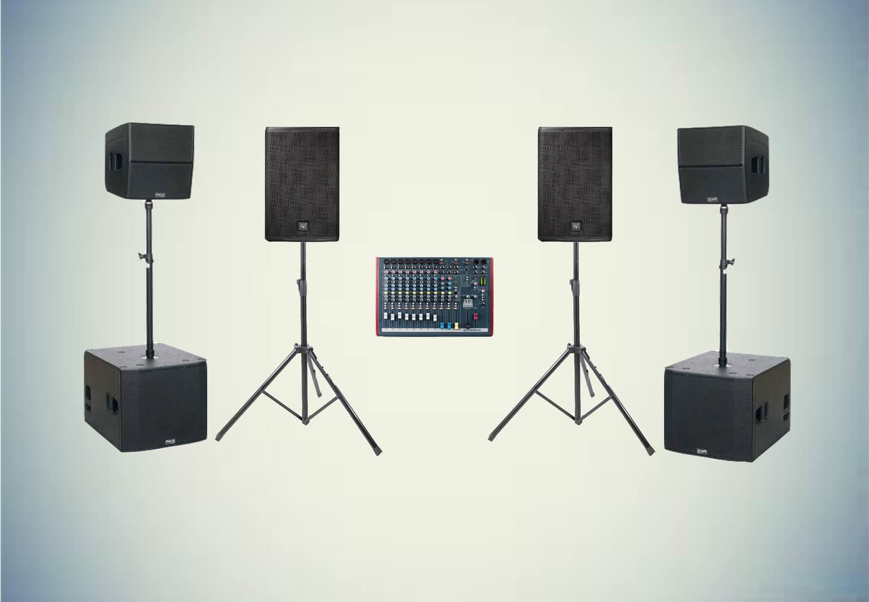 Аренда готового комплекта «Звуковой комплект №5» в Украине