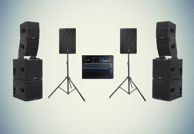 Аренда готового комплекта «Звуковой комплект №6» в Украине