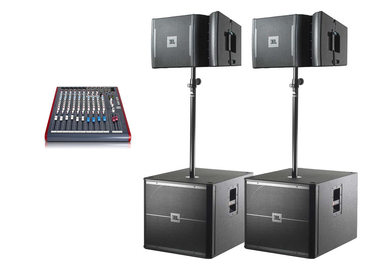 Аренда готового комплекта «Звуковой комплект №3» в Украине