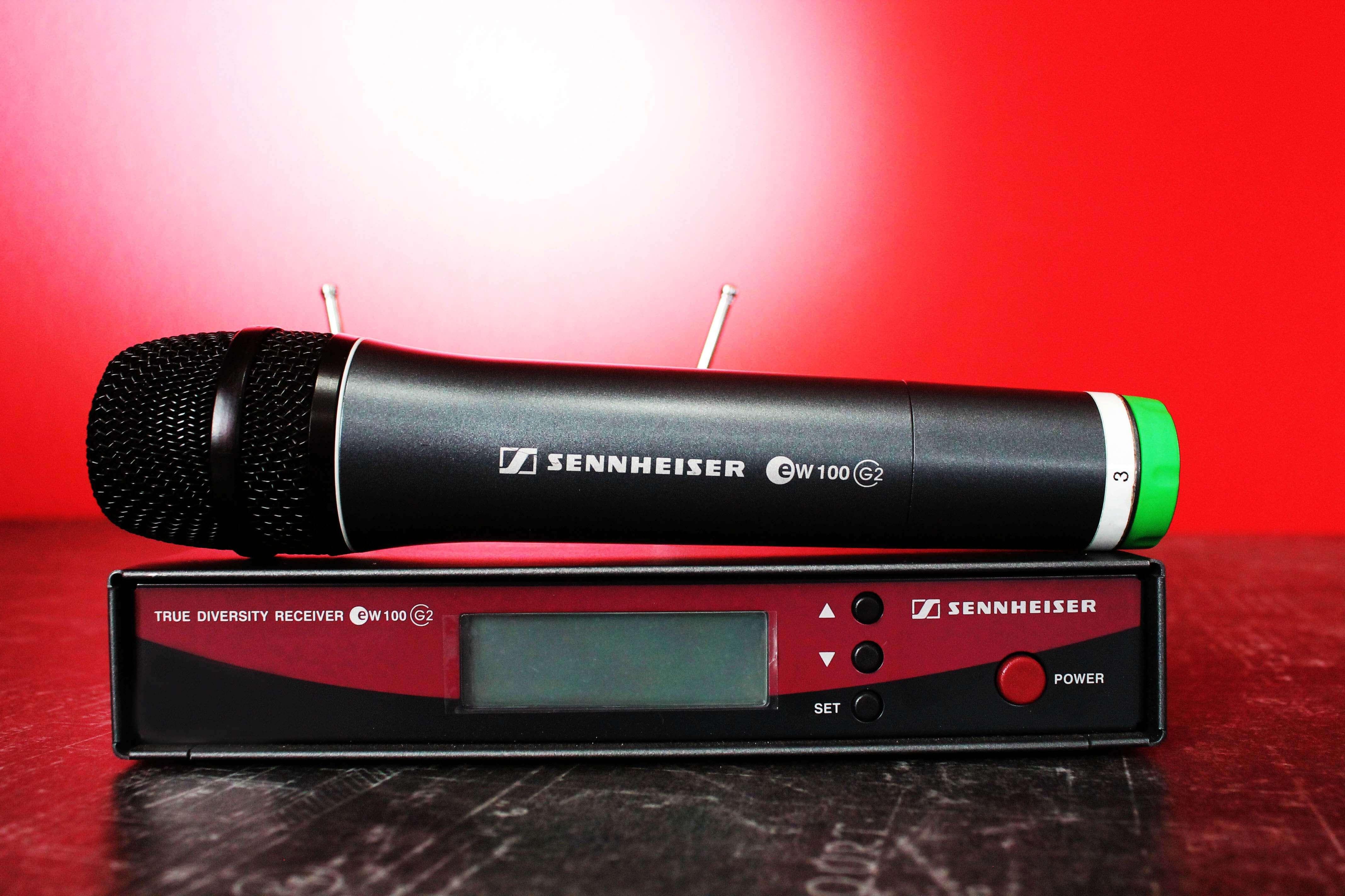 Аренда микрофона Sennheiser 500g2 в Украине