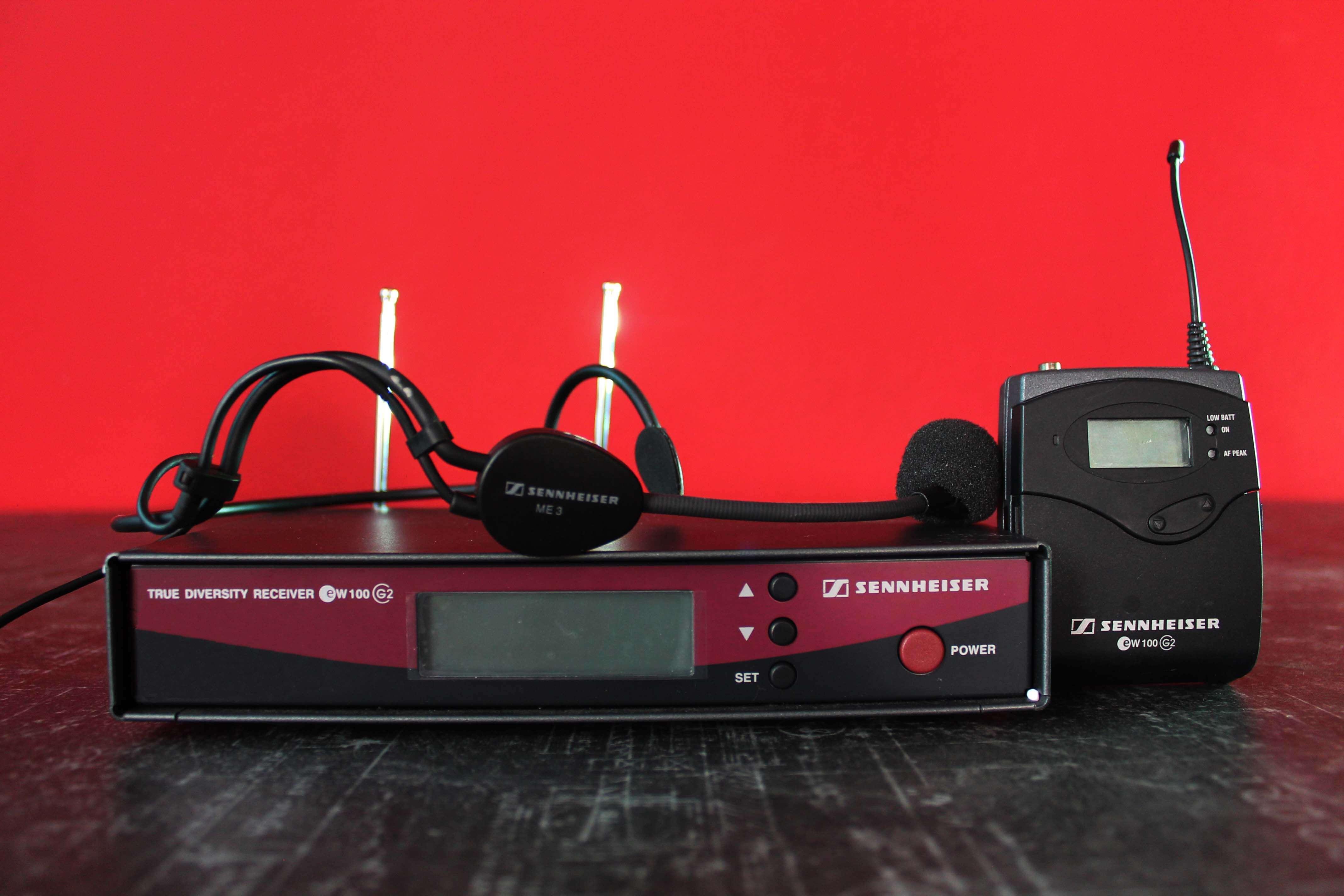 Аренда радиомикрофона Sennheiser G2 headset в Украине