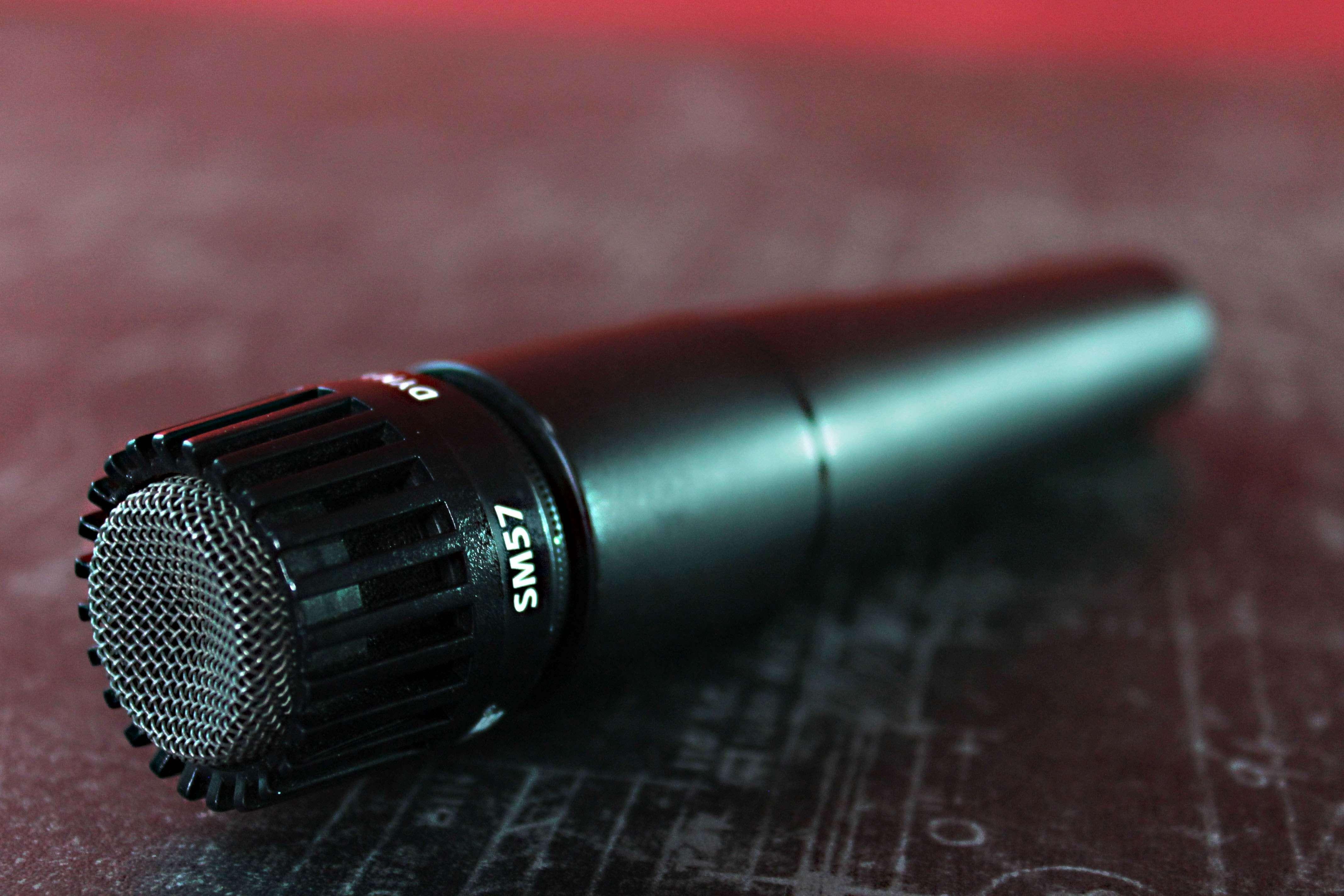 Аренда микрофона  Shure SM 57 в Украине