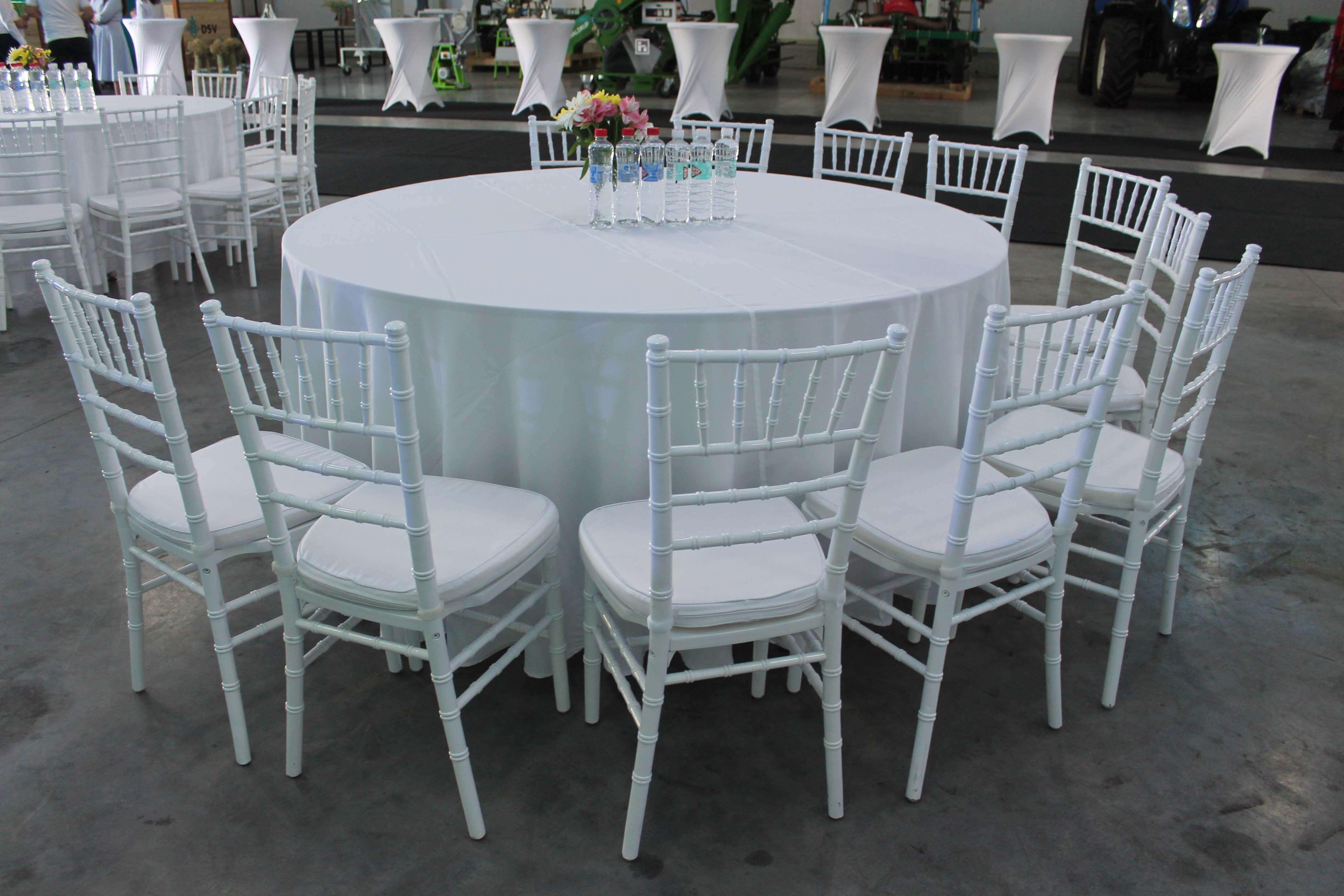 Аренда круглых столов