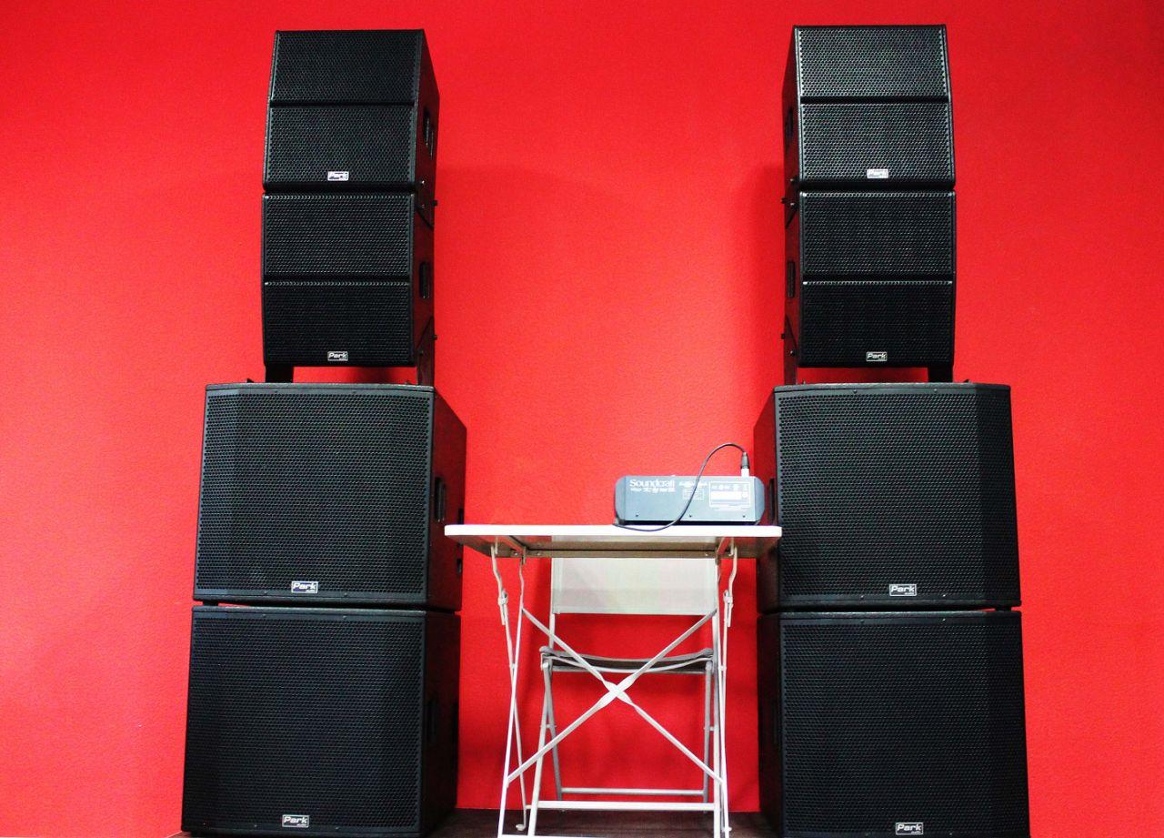 Аренда звукового комплекта Park Audio Duplex Set + микшерный пульт в Украине