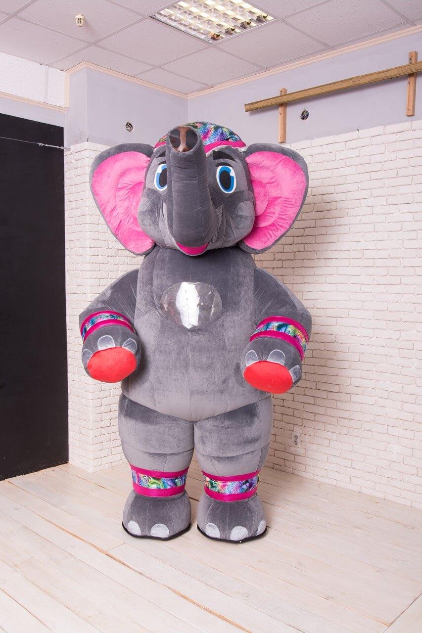 Аренда ростовой куклы Слон в Украине