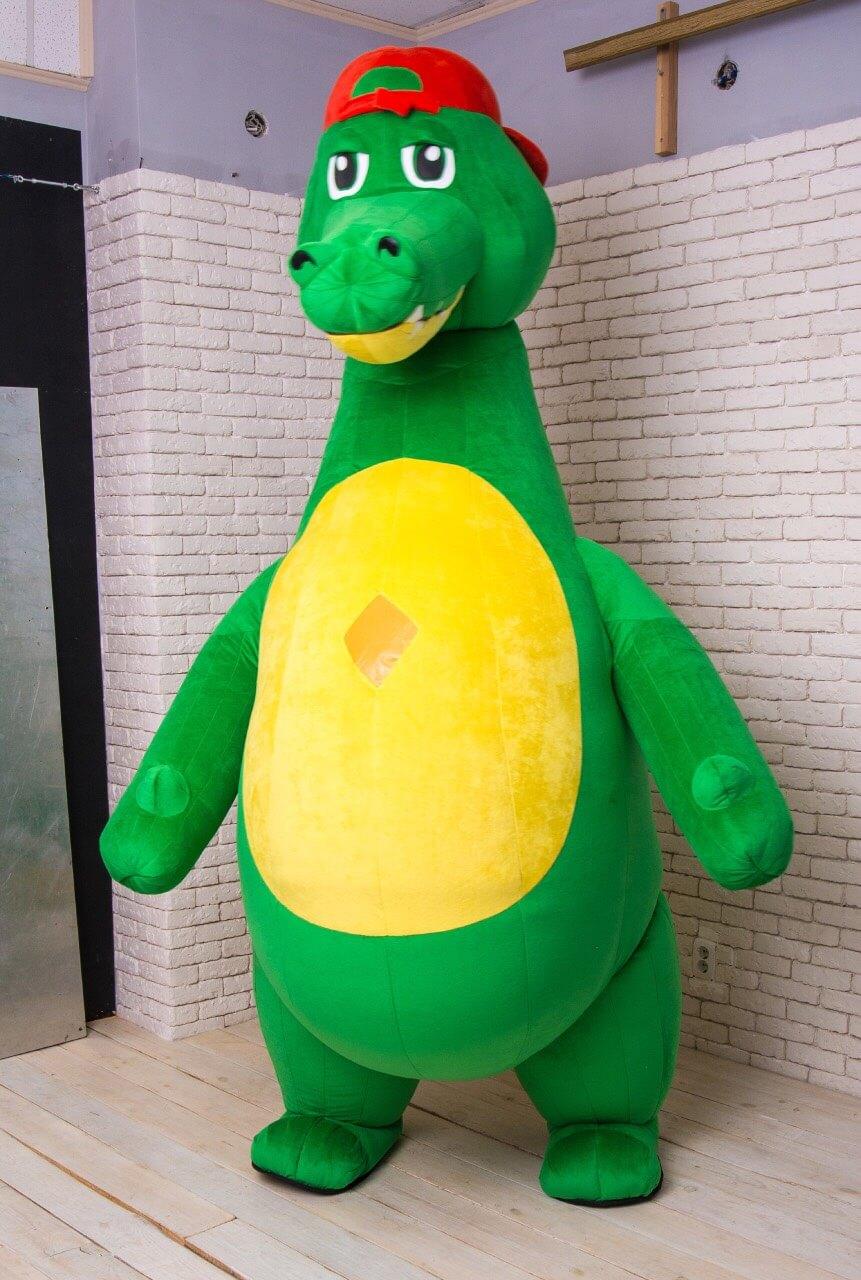 Аренда ростовой куклы Крокодил в Украине