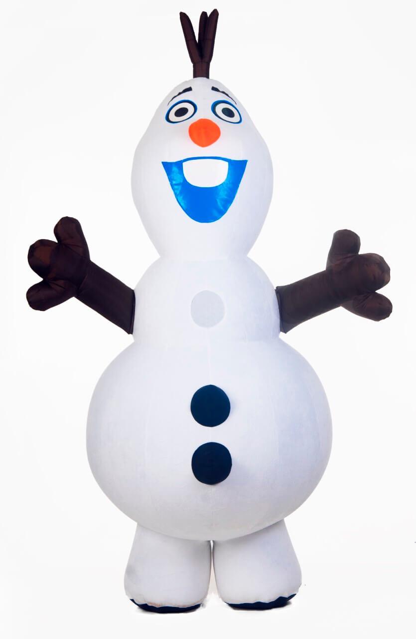 Аренда ростовой куклы Снеговик в Украине