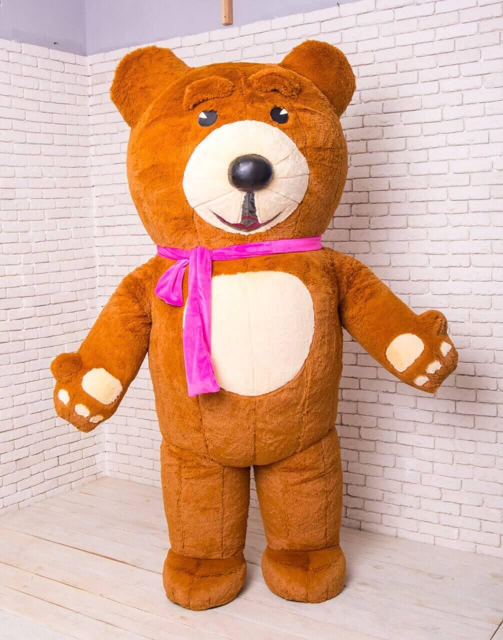 Аренда ростовой куклы Тедди «травка» в Украине
