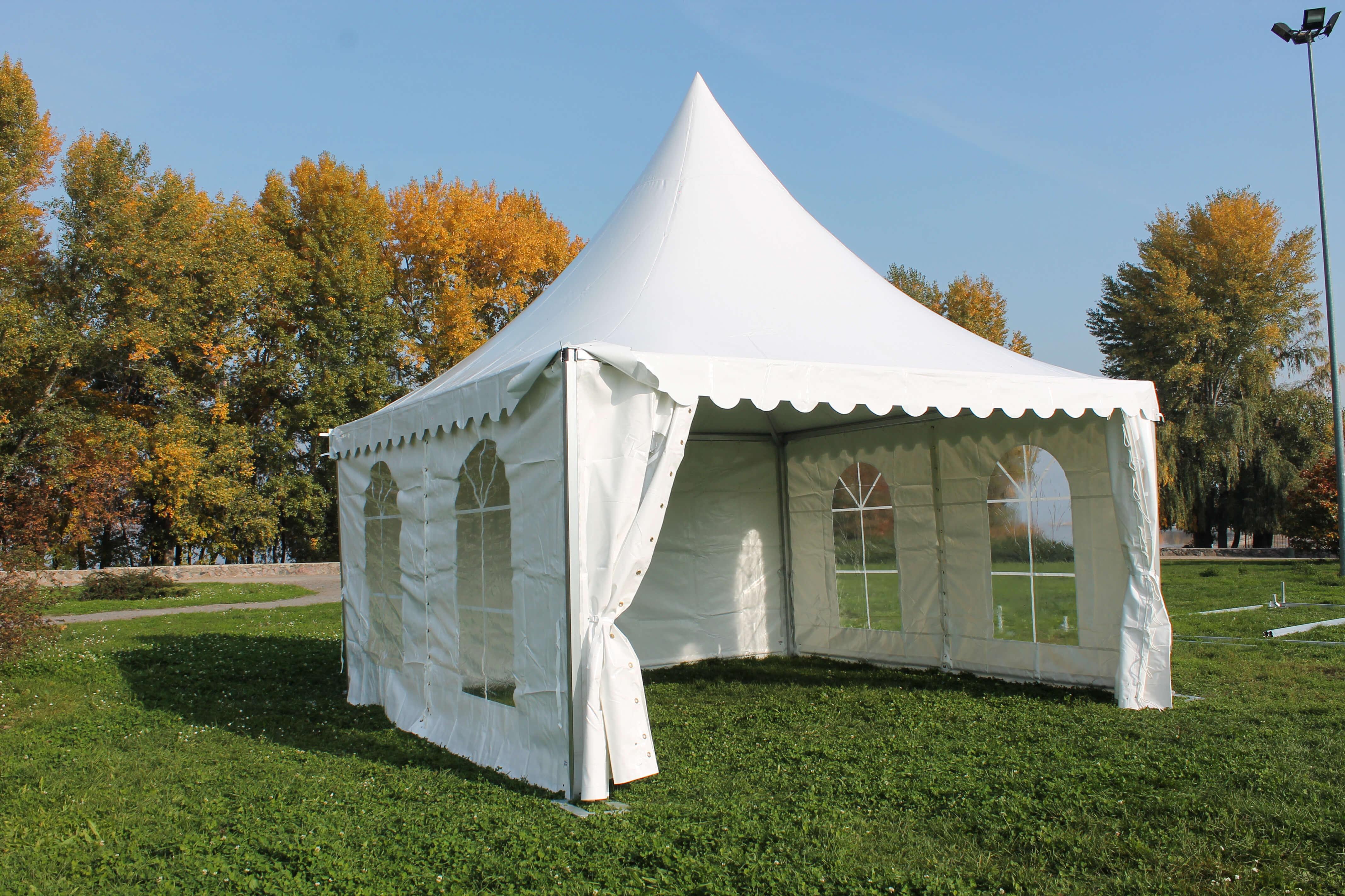 Аренда шатра Pagoda для свадьбы