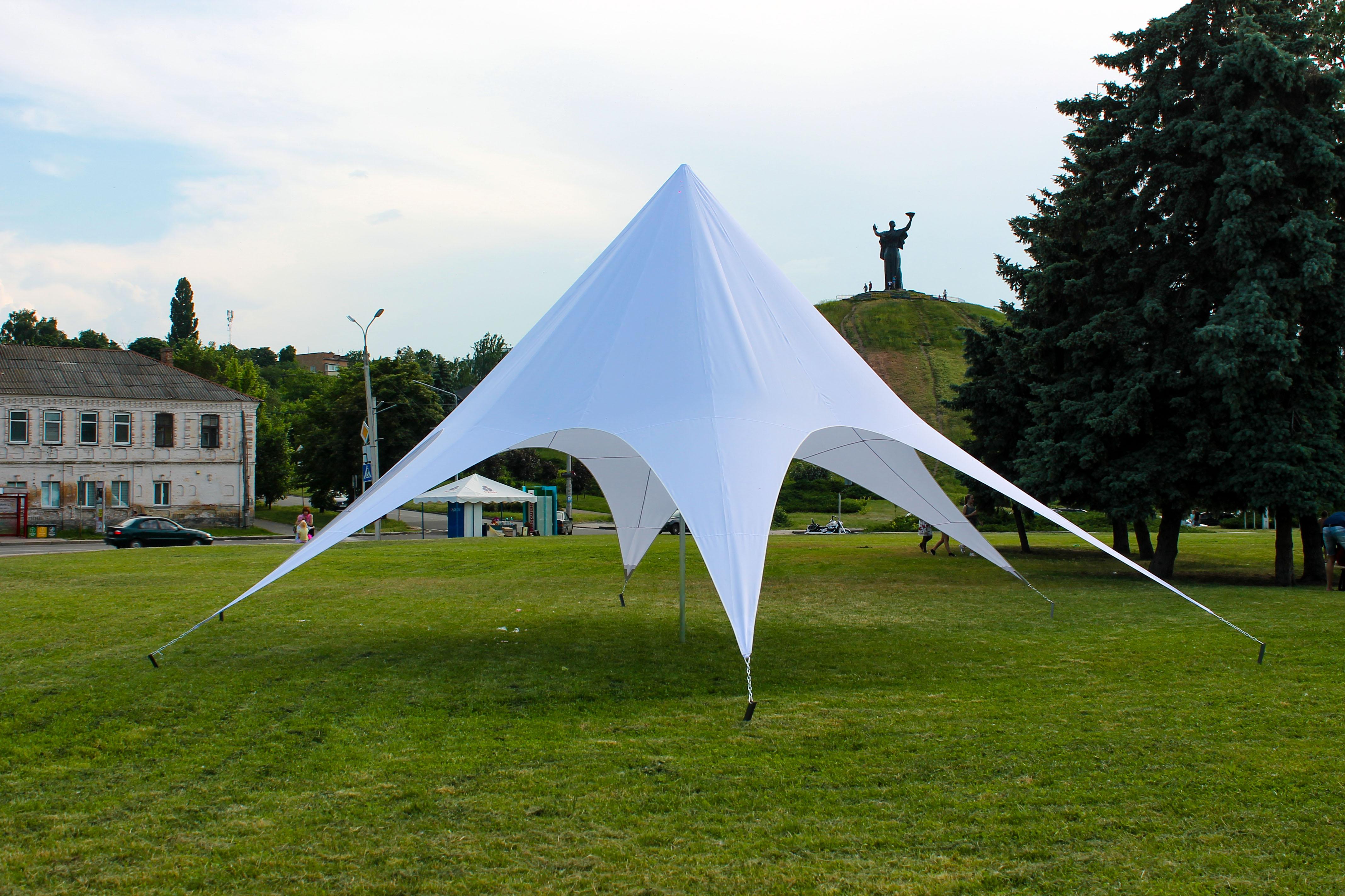 Аренда шатра «Звезда» в Украине