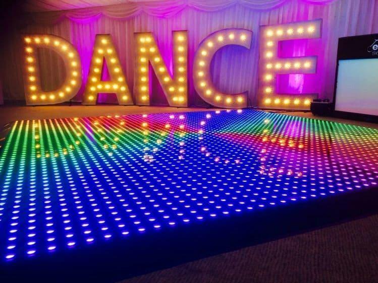 Аренда LED танцпола 64psc